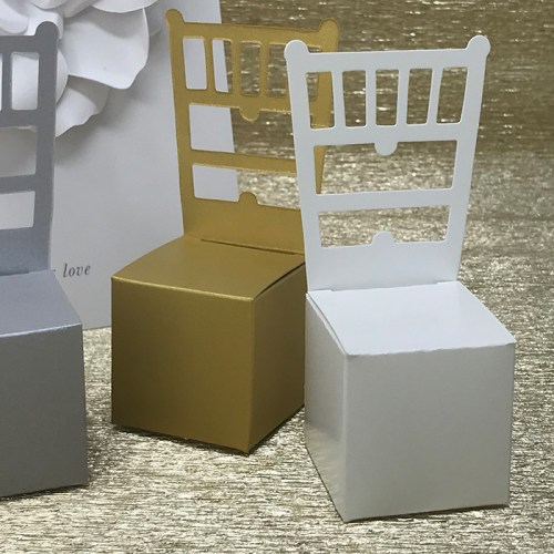 DIY Miniature Chair Favor Box