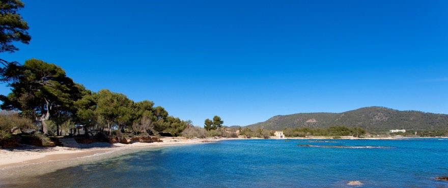 Complexe rsidentiel dans la baie de Costa de los Pinos Majorque