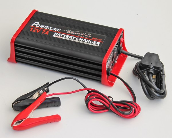 12v 7a Powerline 7 Stage Automatic Battery Charger - Amp