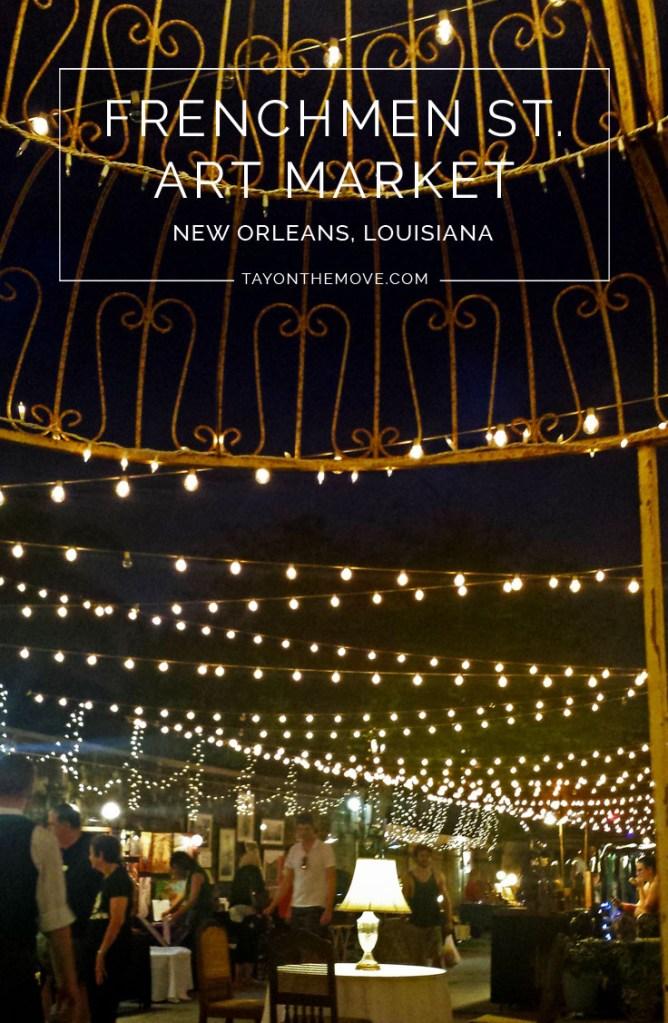 Frenchmen Art Market in New Orleans, Louisiana