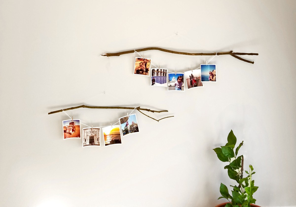 DIY Photo Hanging Idea
