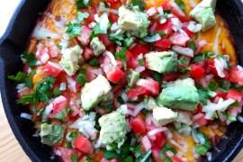 Skillet Chili Cheese Dip