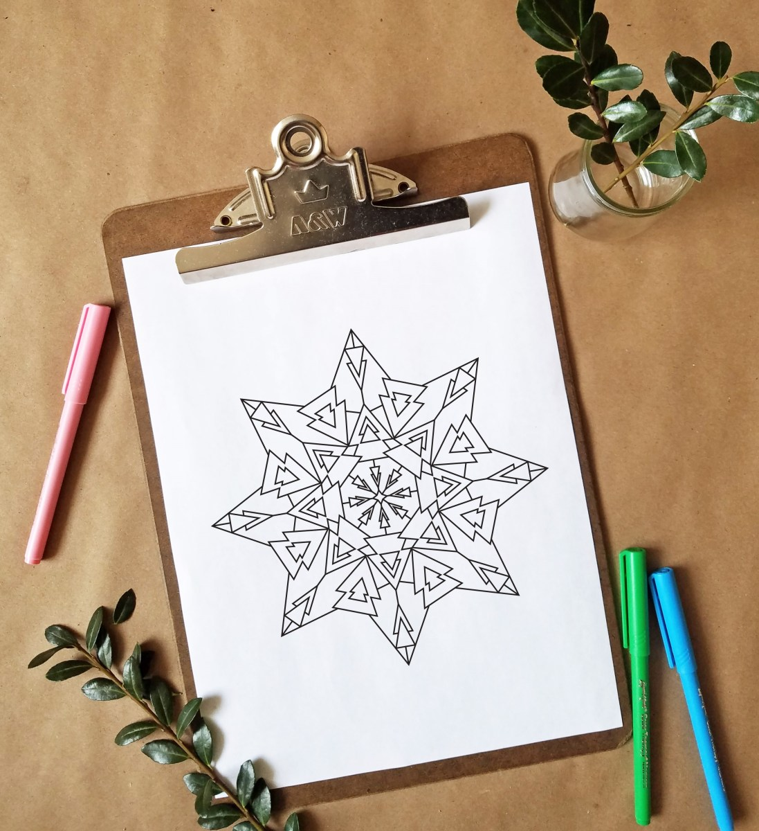 FREEbie Friday - Coloring Page 3