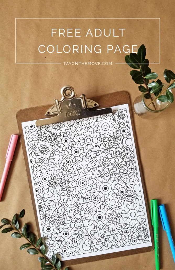 Free Coloring Page Printable