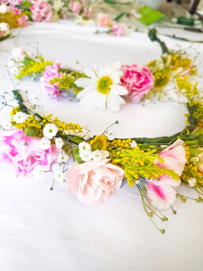 DIY Flower Crown - Spring Time