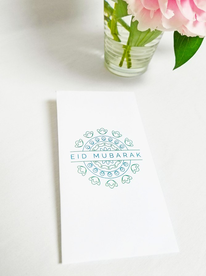 Eid Money Envelope