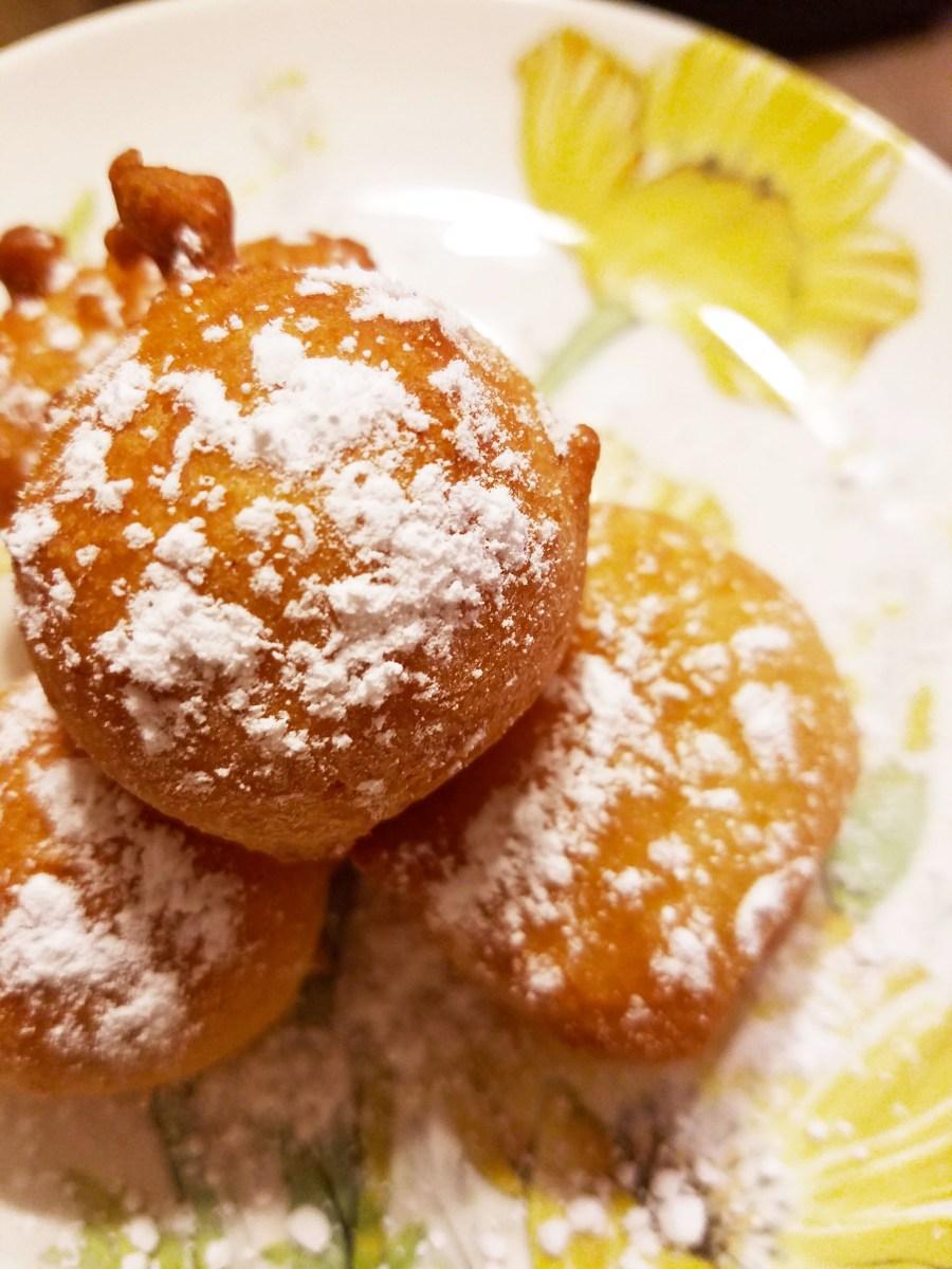 Lemon Ricotta Donuts