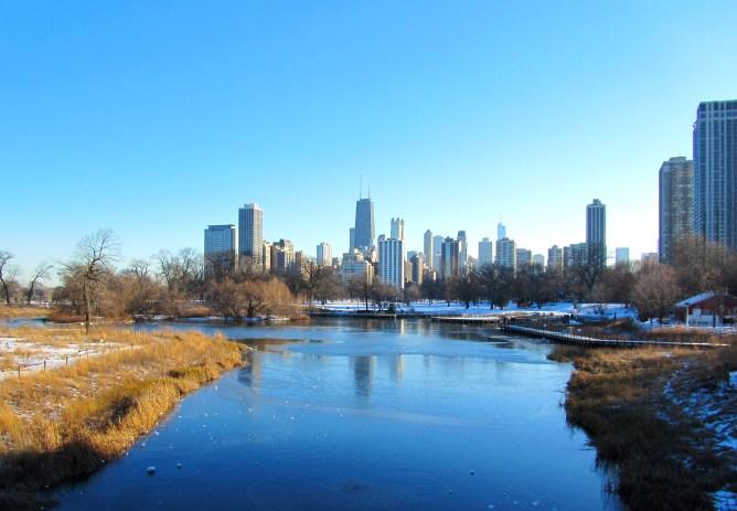 Lincoln Park Chicago Nature Boardwalk 15