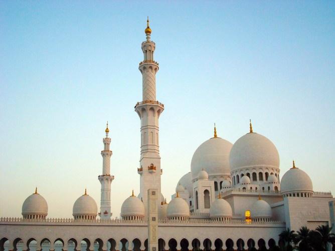 Sheikh Zayed Mosque Abu Dhabi 1
