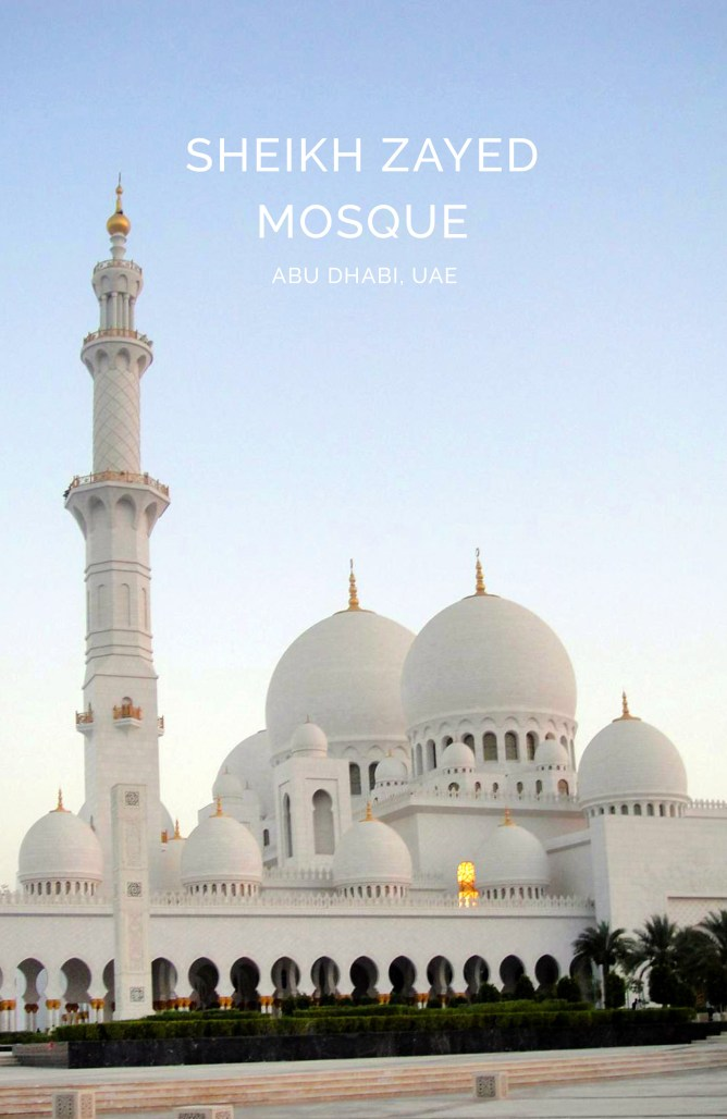 Sheikh Zayed Mosque Abu Dhabi 19