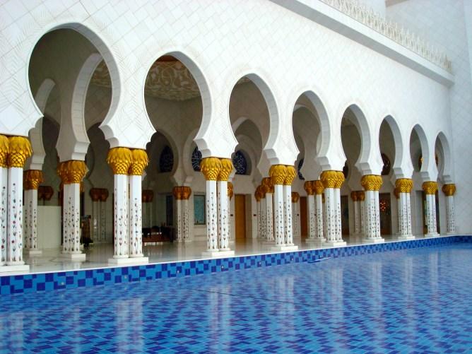 Sheikh Zayed Mosque Abu Dhabi 3