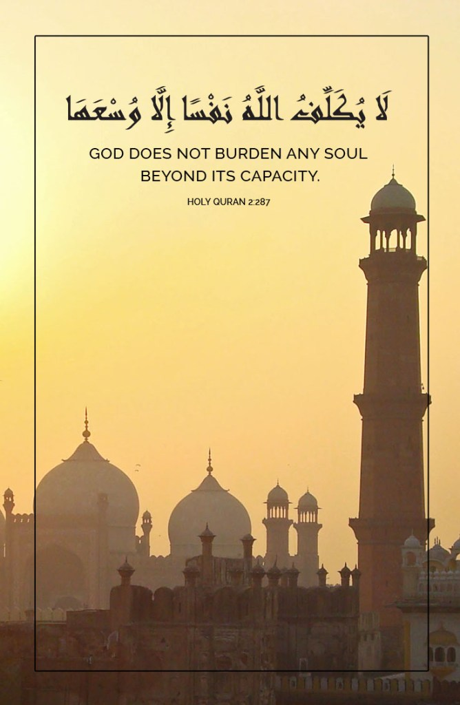 God does not burden 2
