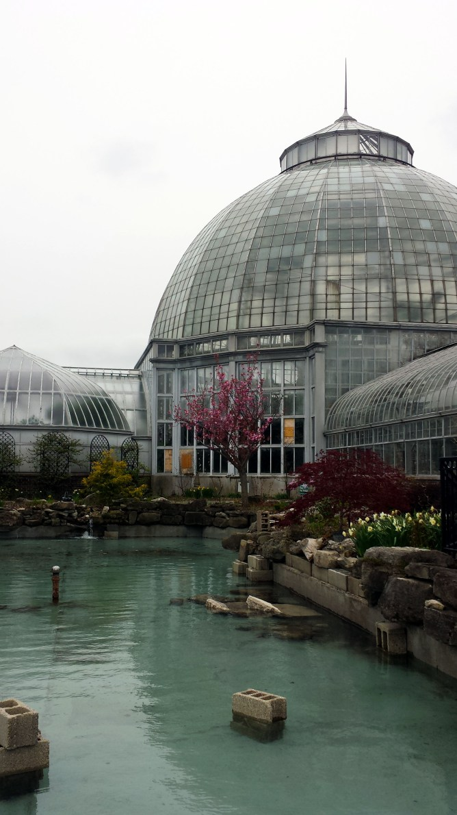 Belle Isle Conservatory Detroit Michigan 1