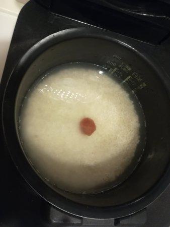 梅干入り炊飯