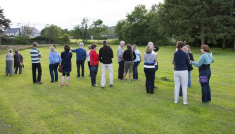 Visit to the Community Gardens site