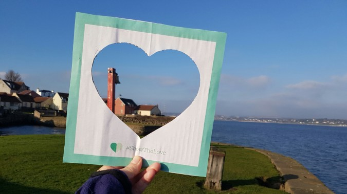 #showthelove climate coalition campaign heart