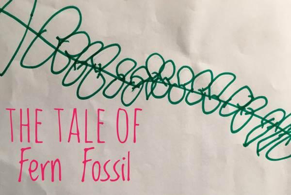 Fern Fossil story opening screen shot