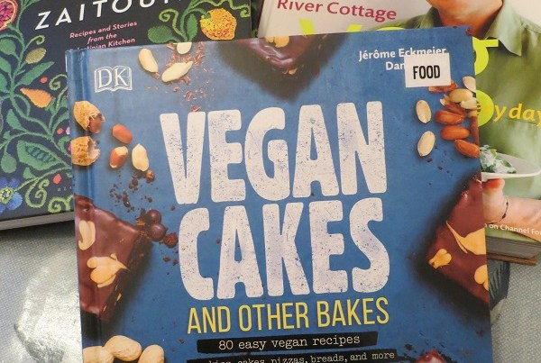 A photo of Vegan Cook Books