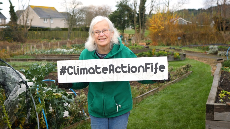 Photo of Jessie for Climate Action Fife