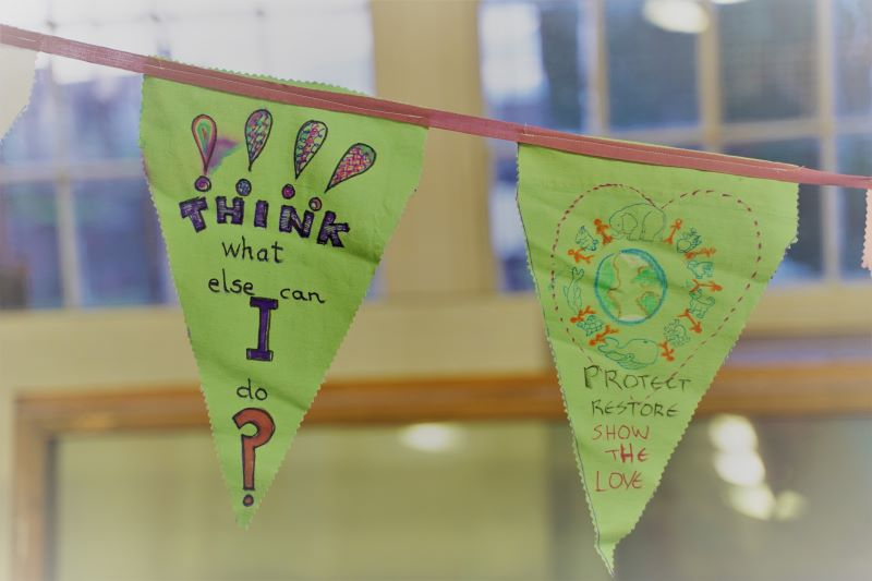 Climate Action Bunting