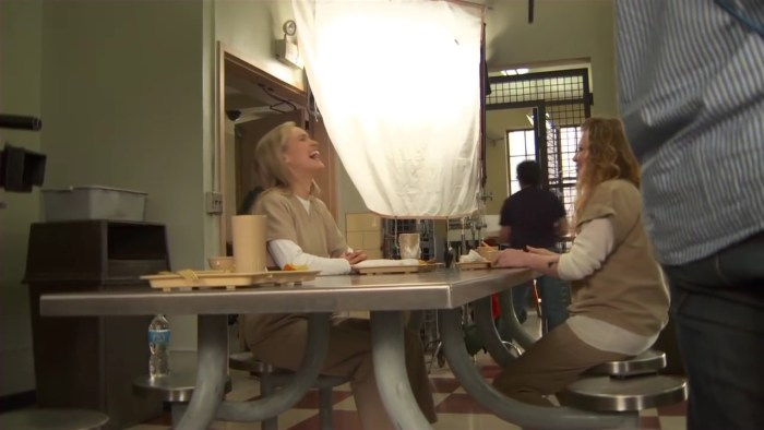 Orange Is The New Black Season 2 Behind the Scenes (Complete Broll) Taylor Shilling.mp4_20160121_194138.928