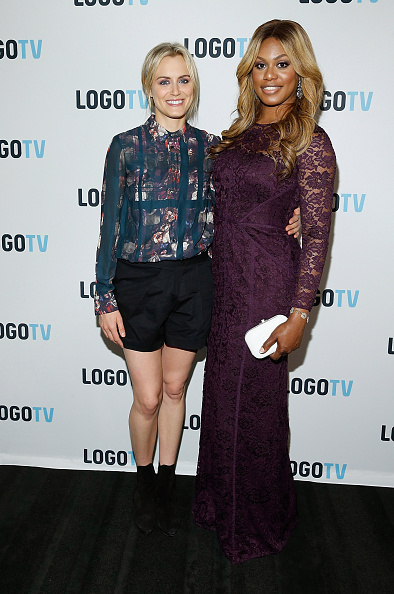 """Laverne Cox Presents: The T Word"" Logo TV Premiere Party & Screening"