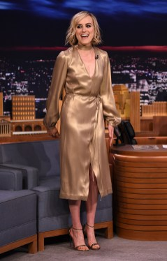 "Taylor Schilling Visits ""The Tonight Show Starring Jimmy Fallon"""