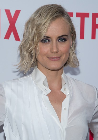 """NEW YORK, NY - AUGUST 11: Actress Taylor Schilling attends the """"Orange Is The New Black"""" FYC Screening at the DGA Theater on August 11, 2015 in New York City. (Photo by Mark Sagliocco/Getty Images)"""