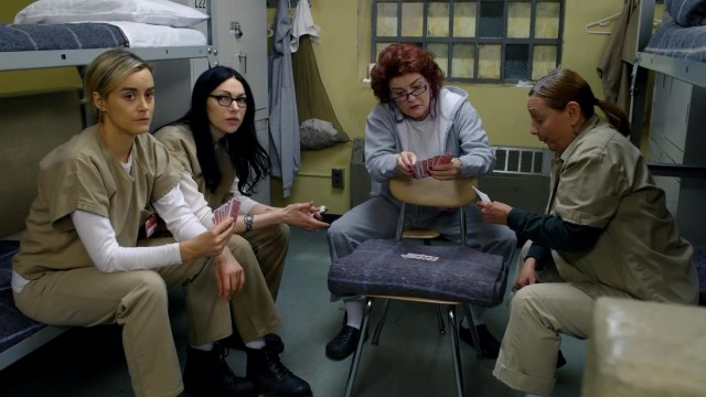 Orange Is The New Black Promo Poster Screencaps of Taylor S...