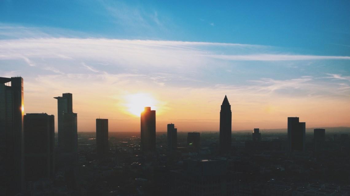 Frankfurt Sonnenuntergang