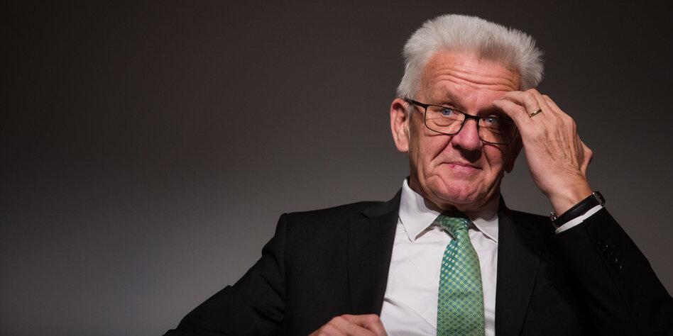ministerprasident uber fluchtlinge kretschmanns rohrkrepierer taz de