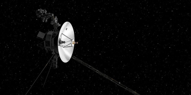 The Voyager 2 of NASA.