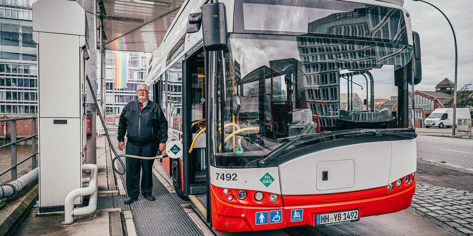 Hamburg: Ein Mann brennt für Wasserstoff
