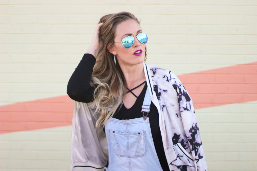 denim, overalls, bodysuit, blue aviators, spring denim trends