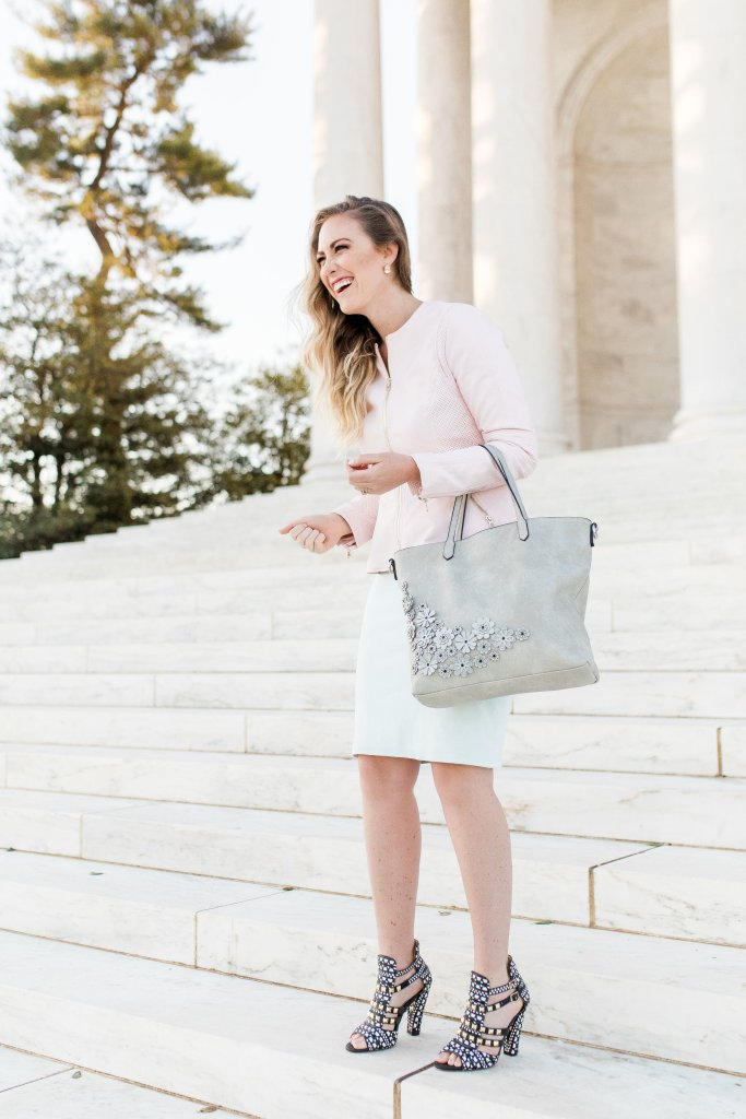 Washington D.C., Wilsons Leather, Spring Outfit Ideas