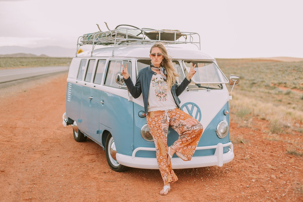 5 Summer Outfits to Try Right Now, boho, vintage bus