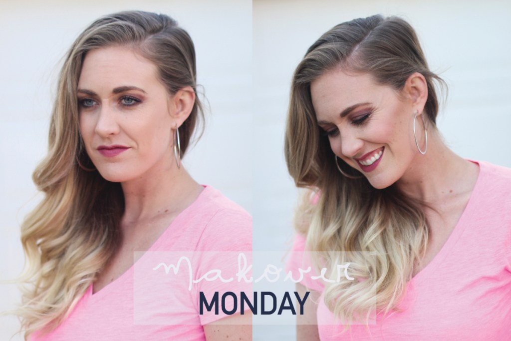 Maskcara Beauty - with and without IIID foundation, Makeover Monday