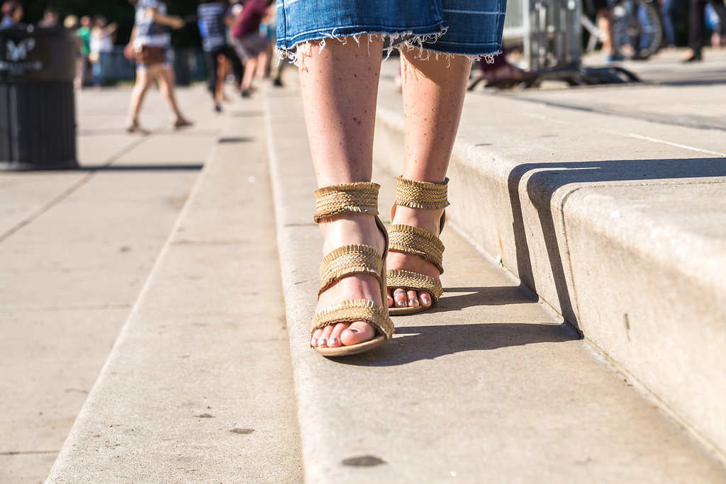 The Ultimate Guide to Chicago, summer outfit ideas, target shoes