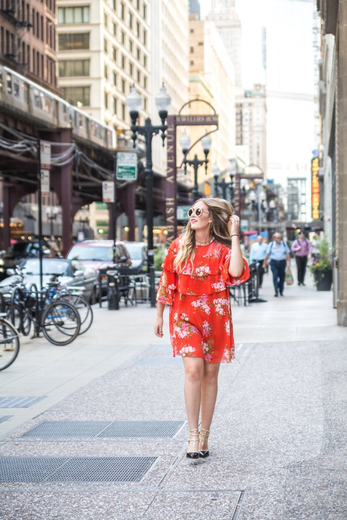5 summer outfit ideas to try right now, floral dress, valentino