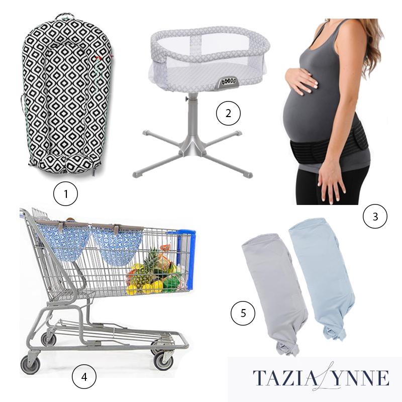 dock a tot, halo bassinest, belly bandit, binxy baby, ollie world, maternity baby registry list