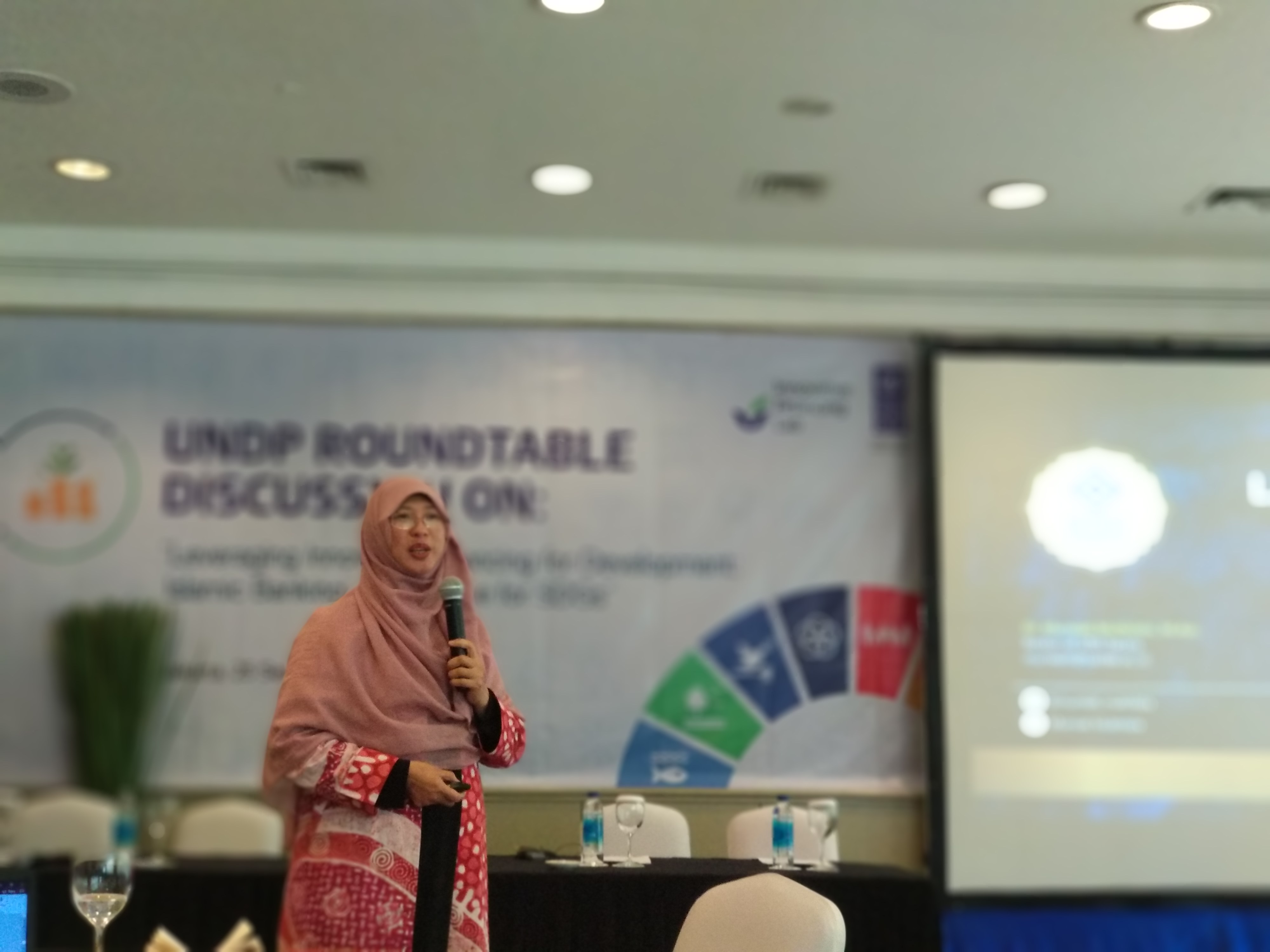 Sharing STEI Tazkia pada Event UNDP (United Nations Development Program) Indonesia.