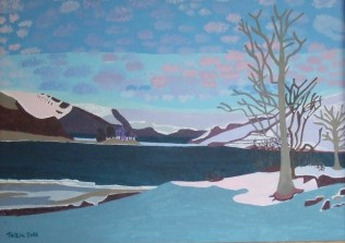Snow in Norway - 4, £1000: Acrylic 70x50 cms