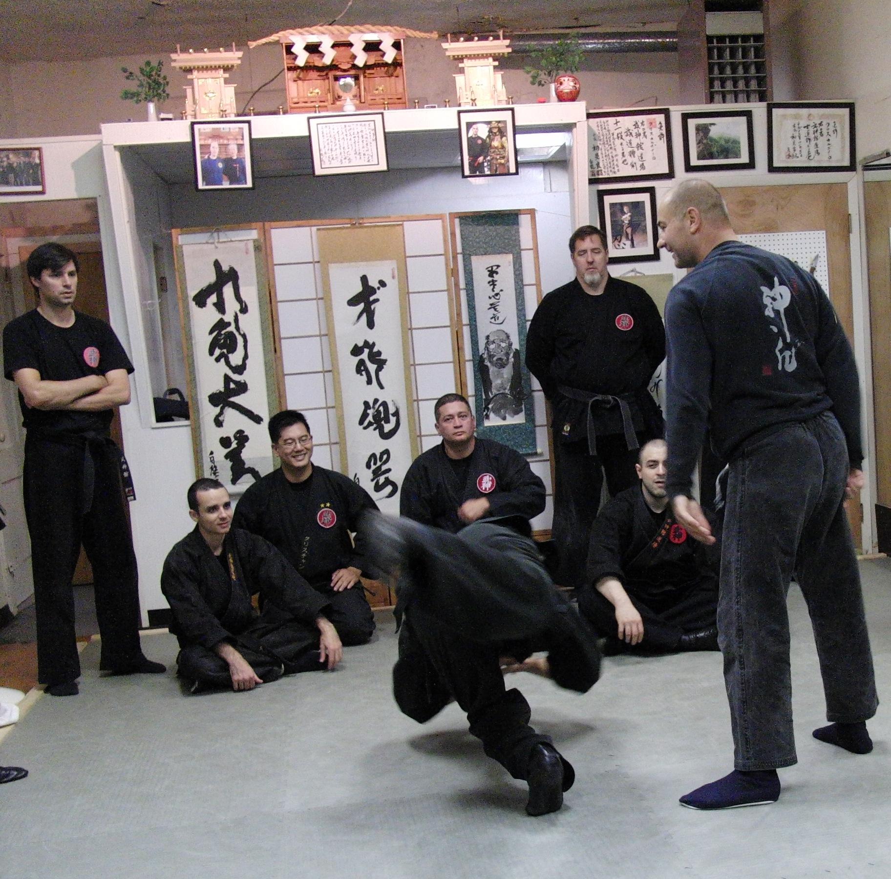 Tanuki dojo 2009 035