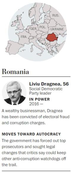 Washington Post scrie despre Liviu Dragnea, unul dintre noii autocrati ai Europei: Iata cum isi cumpara sustinerea poporului