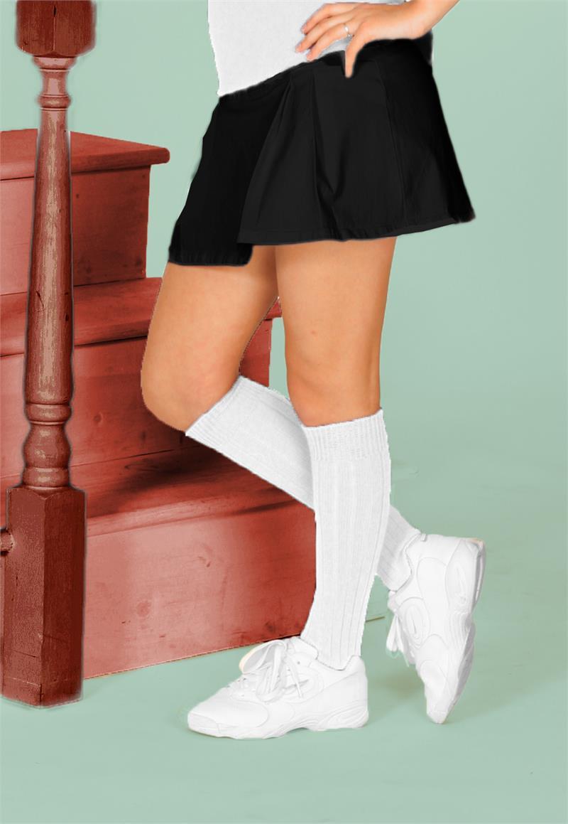 Womens Solid Golf Socks
