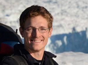 Timothy Bartholomaus at Yahtse Glacier