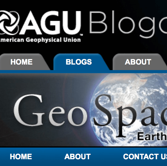 Press write-up of AGU presentation