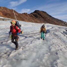 Seismometers, GPS recovered from Alaskan glacier