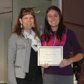 Glaciology student wins college-wide award