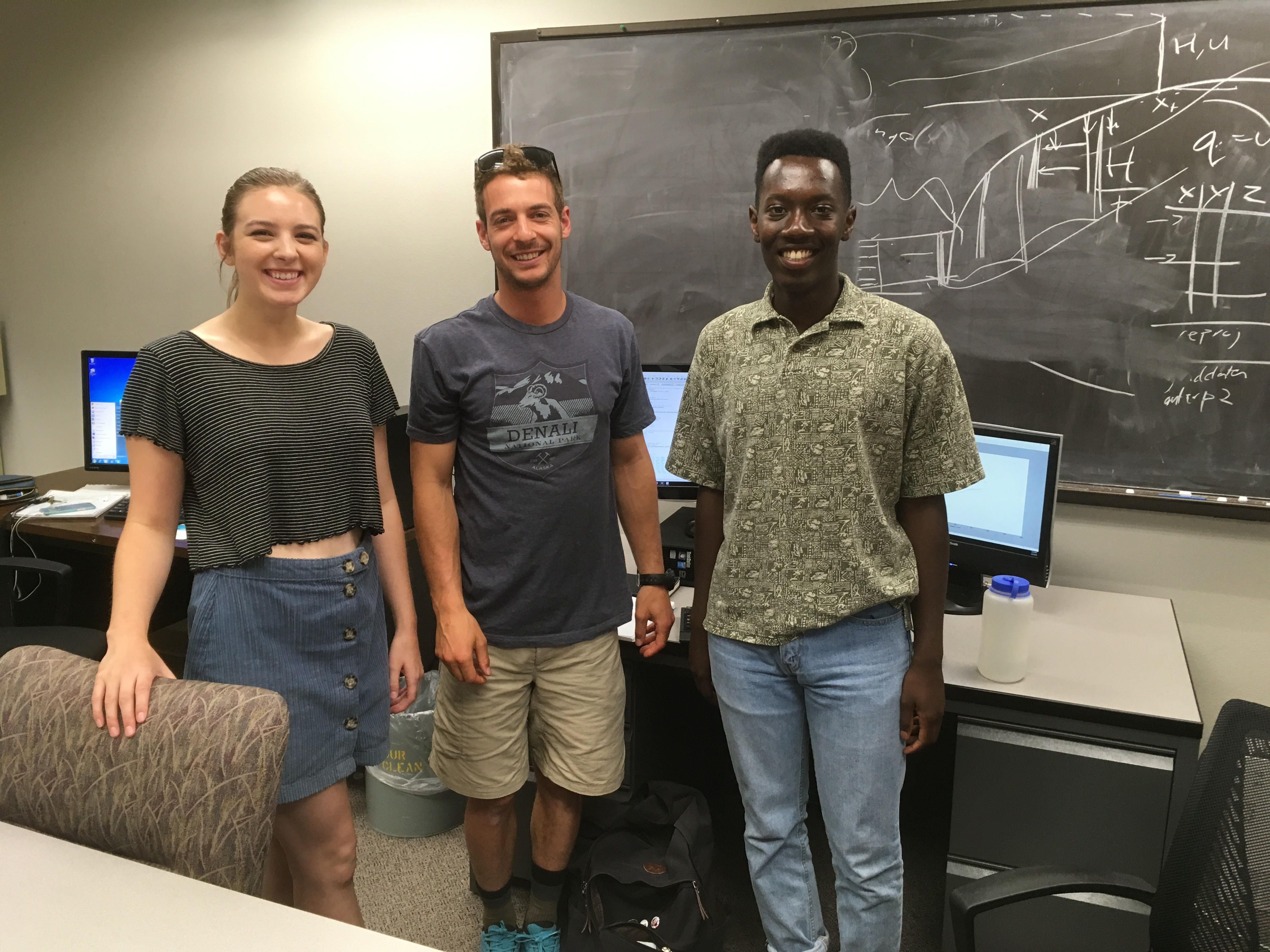 Student researchers advance understanding of iceberg calving